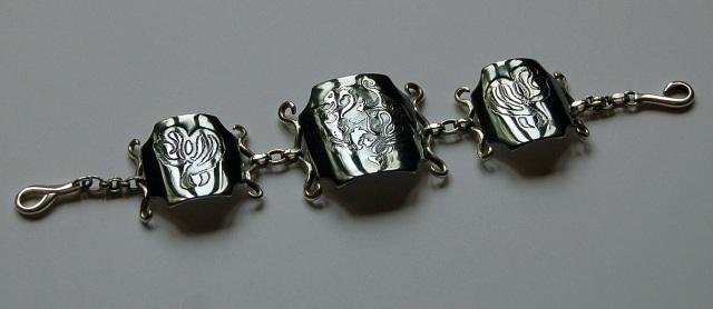 Gothic~Style Dragon Bracelet