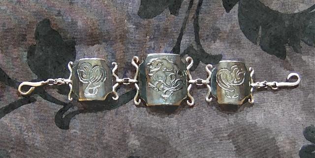 Gothic Dragon Bracelet ~ Artist's Impression